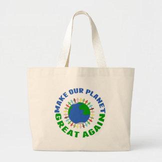 Maak Onze Planeet Groot opnieuw Grote Draagtas