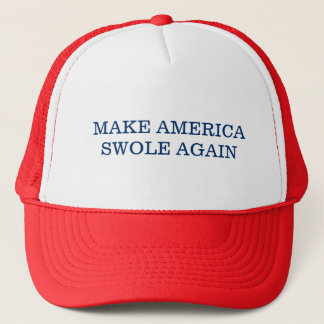 Maak opnieuw Amerika Swole Trucker Pet