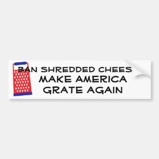 Maak opnieuw de kaas tot Troef van de Rooster van Bumpersticker