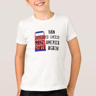 Maak opnieuw de kaas tot Troef van de Rooster van T Shirt