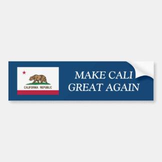 MAAK OPNIEUW tot CALIFORNIË GROTE grappige Bumpersticker