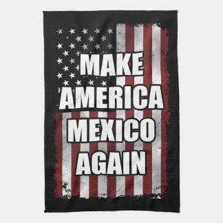 Maak opnieuw tot het Overhemd van Amerika Mexico | Theedoek