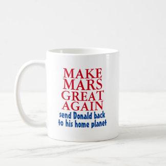 Maak opnieuw tot Mars Grote Grappige AntiDonald Koffiemok