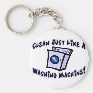 Maak schoon als een Wasmachine Sleutelhanger