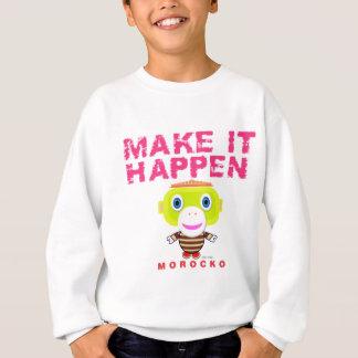 Maak tot het gebeuren-Leuke aap-Morocko Trui
