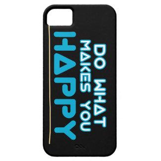 Maak u gelukkige dekking barely there iPhone 5 hoesje