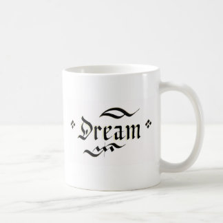 Maak uw droom waar komen koffiemok