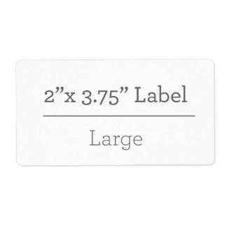 Maak Uw Eigen Etiket 8.5 X 11
