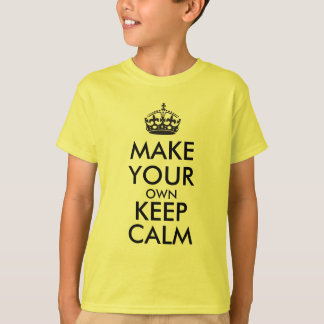 Maak uw eigen levensonderhoudrust - zwarte t shirt
