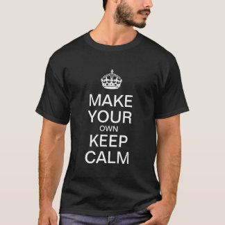 Maak Uw Eigen Rust van het Levensonderhoud - het T Shirt