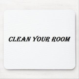 maak uw ruimte schoon muismat