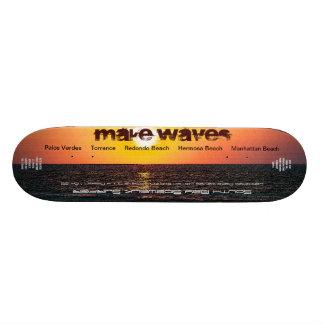 Maak Waves Ltd. en de Genummerde Stoep Su van de Skateboard
