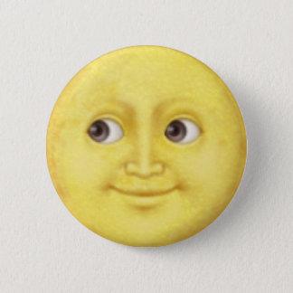 Maan Emoji Ronde Button 5,7 Cm