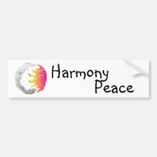 Maan en Zon, Harmonie, Vrede Bumpersticker