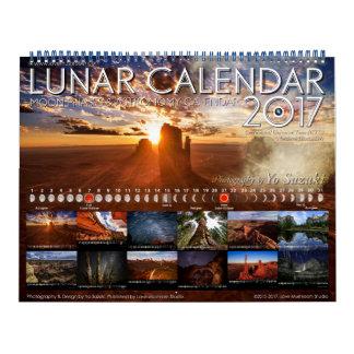 Maan Kalender 2017 de Kalender van de Astronomie