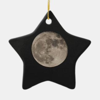 Maan Keramisch Ster Ornament