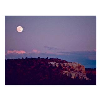 Maan over het Nationale Monument van Gr Morro Briefkaart