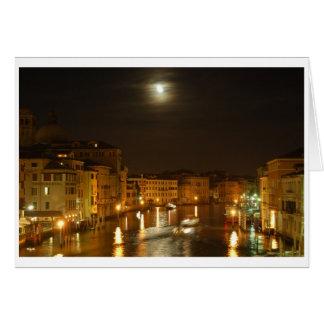 Maan over Venetië Kaart