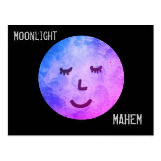 Maanlicht Mahem Briefkaart