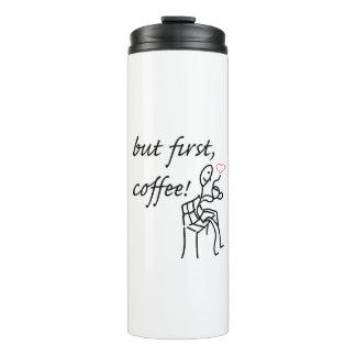 Maar de Eerste ThermoFles van de Koffie Thermosbeker