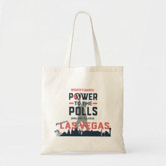 Maart Las Vegas van vrouwen - Canvas tas