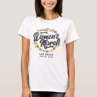 Maart van de Vrouwen van Las Vegas T Shirt