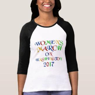 Maart van vrouwen op Washington 2017 T Shirt