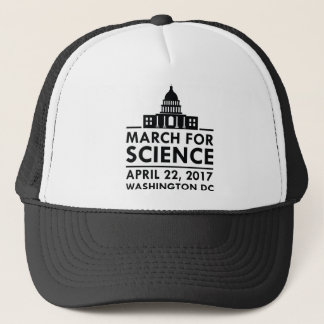 Maart voor Wetenschap Trucker Pet