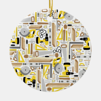 Maatregel tweemaal, Besnoeiing eens Rond Keramisch Ornament
