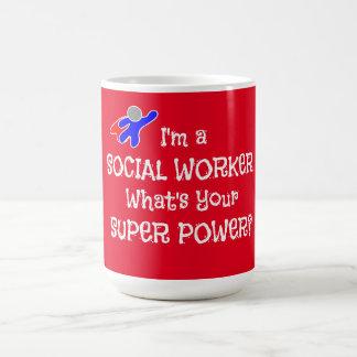 Maatschappelijk werker Superhero Koffiemok