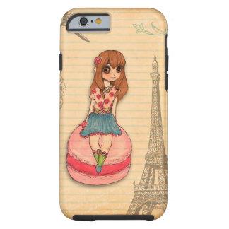 Macaron in Parijs Tough iPhone 6 Hoesje