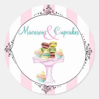 Macarons en Stickers Cupcakes of Verbindingen
