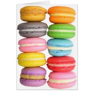 Macarons Kaart