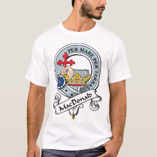 MacDonald van Donald Clan Badge T Shirt