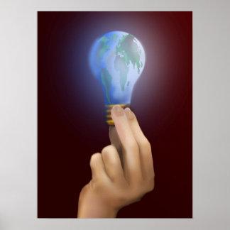 Macht Onze Wereld Poster