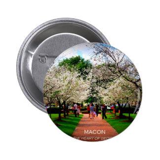 Macon, Georgië Button