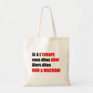 MACRON = Mondialisation Canvas tas