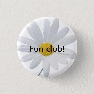madeliefje, de club van de Pret! Ronde Button 3,2 Cm