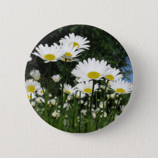 madeliefje ronde button 5,7 cm