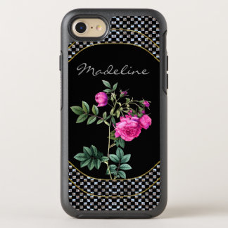 Madelines nam Beschermend Mooie Monogram toe OtterBox Symmetry iPhone 8/7 Hoesje