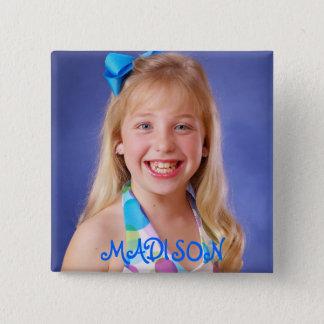 Madison Gerlach, MADISON Vierkante Button 5,1 Cm