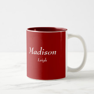 Madison, Leigh Tweekleurige Koffiemok