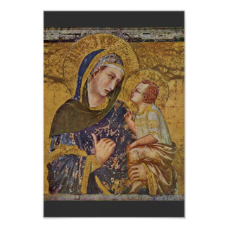 Madonna Dei Tramonti door Lorenzetti Pietro Poster