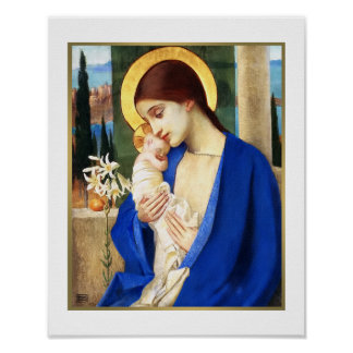 Madonna door Marianne Stoke. Het fijne Poster van