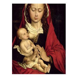 Madonna en Kind Briefkaart