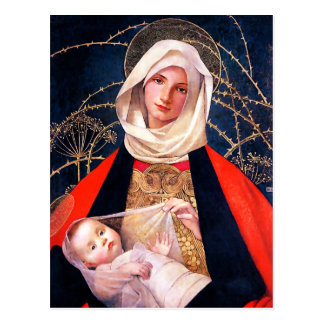 Madonna en Kind. De fijne Briefkaarten van