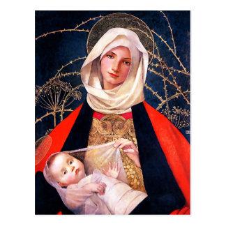 Madonna en Kind. De fijne Briefkaarten van Briefkaart