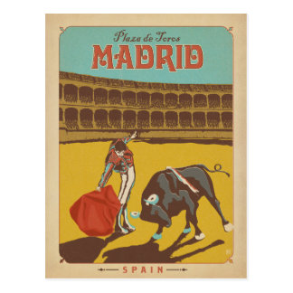 Madrid, Spanje Briefkaart