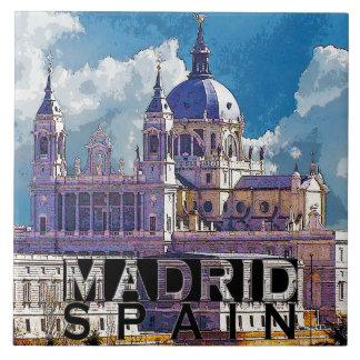 Madrid Tegeltje
