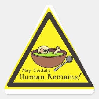 Mag de Menselijke Stickers van Overblijfselen